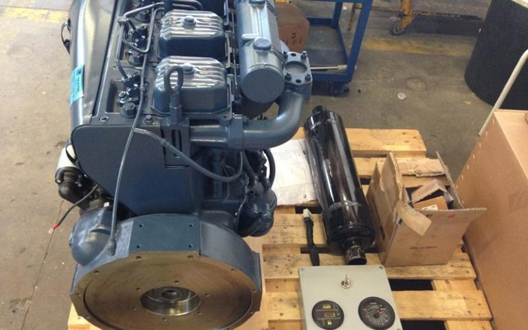 hydraulic power units transportation on pallets