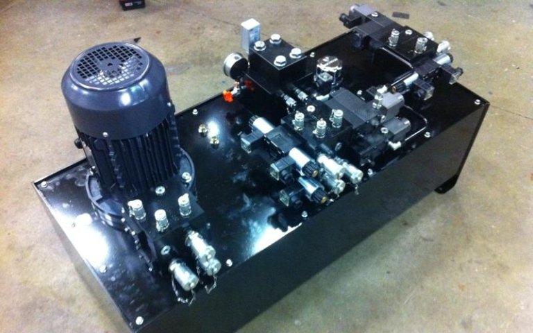 Fameccanica power unit model