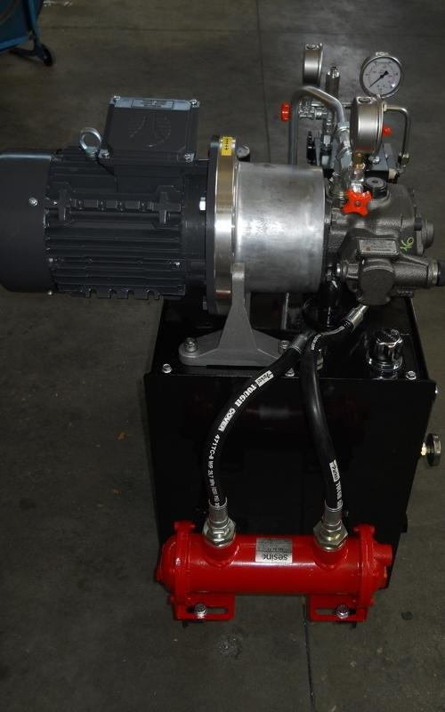 Raicam power unit design