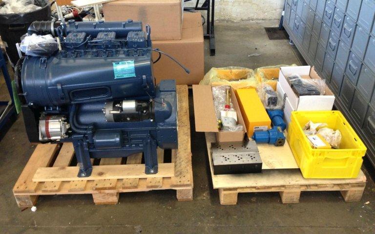 hydraulic system logistics