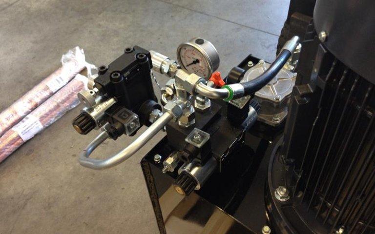 OMA power unit production