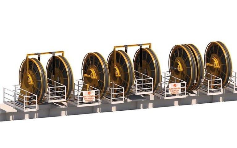 Hose Reel Station_3D Model 8 Reels