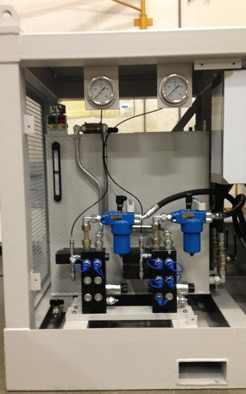 hydraulic components operational assessment