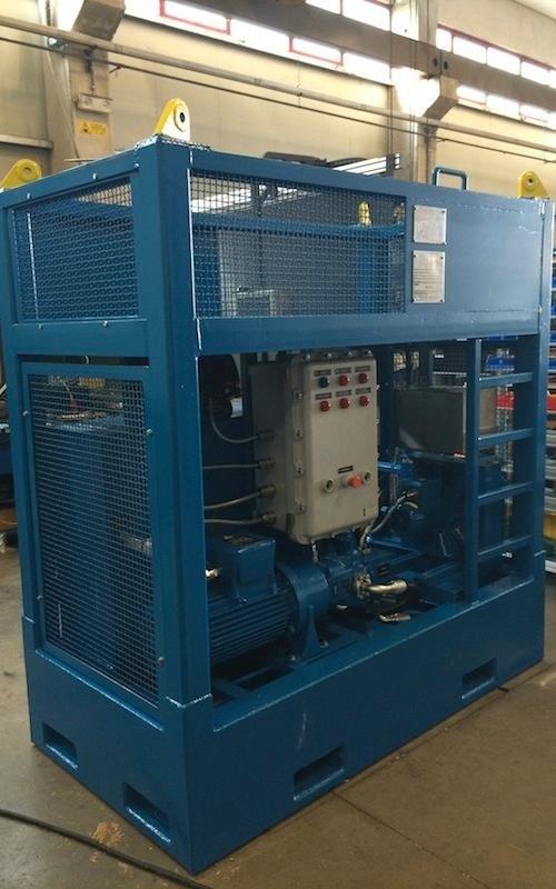 hydraulic installations petroservices mediterranea spa