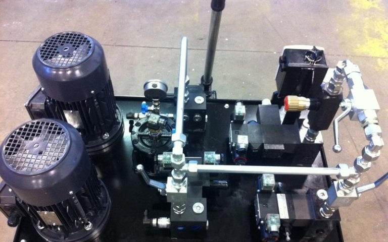 hydraulic power unit design