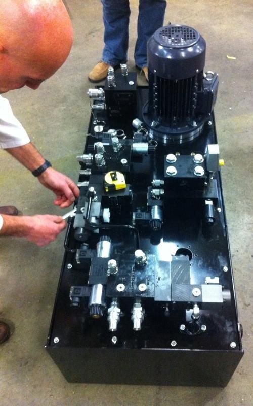 Fameccanica power unit composition