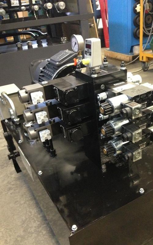 Fameccanica power unit component supplies