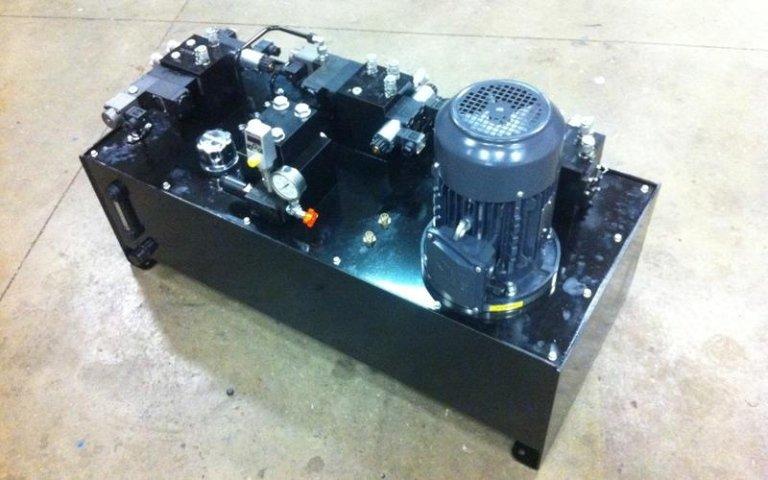Fameccanica power unit detail
