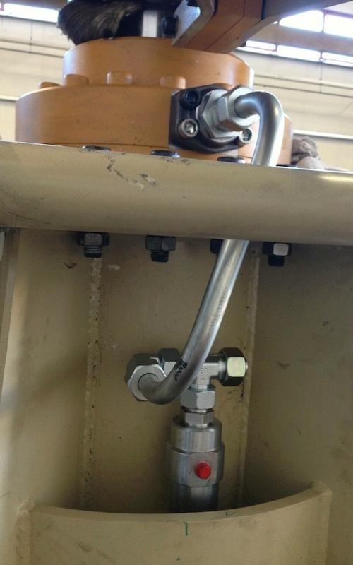 hydraulic power unit logistics