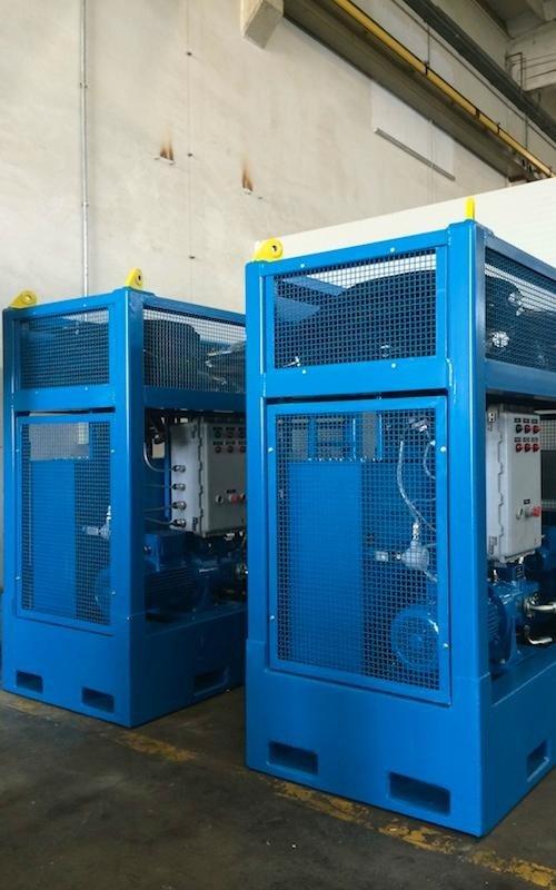 hydraulic power unit repair