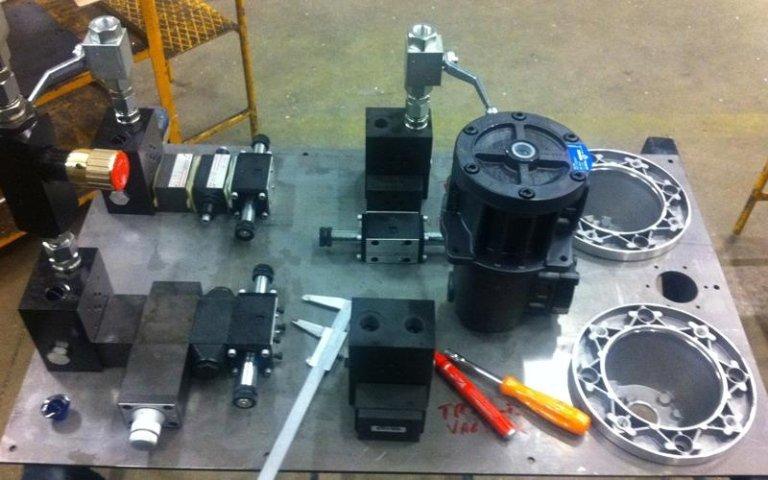 industrial power unit parts