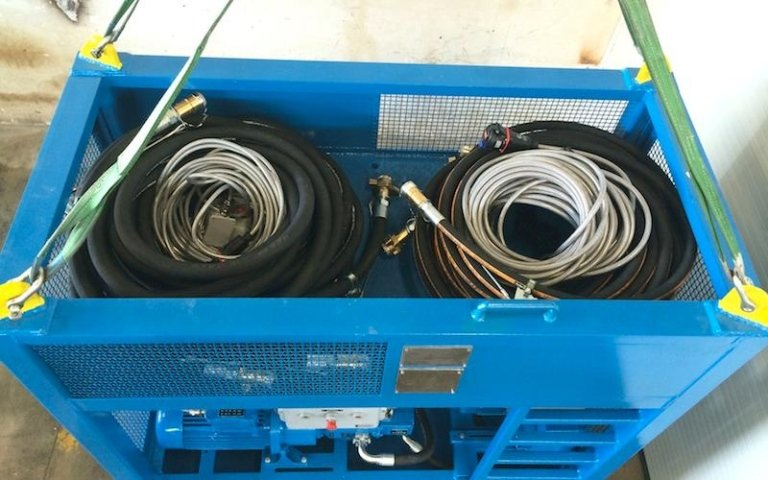 hydraulic power unit component parts