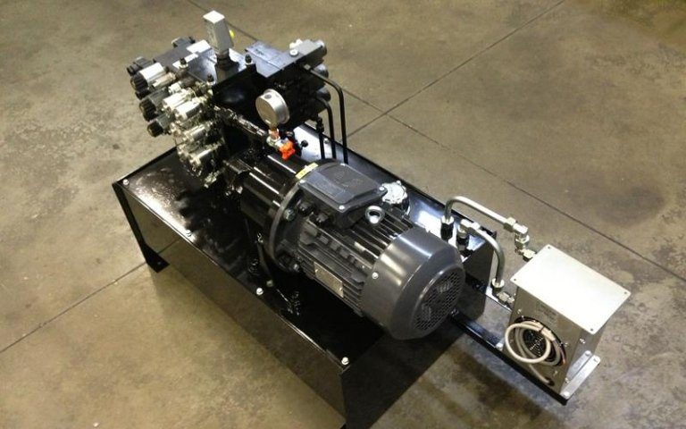 Fameccanica power unit manufacture