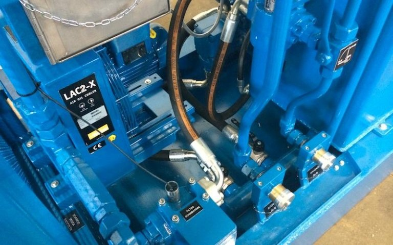 hydraulic power unit component sales
