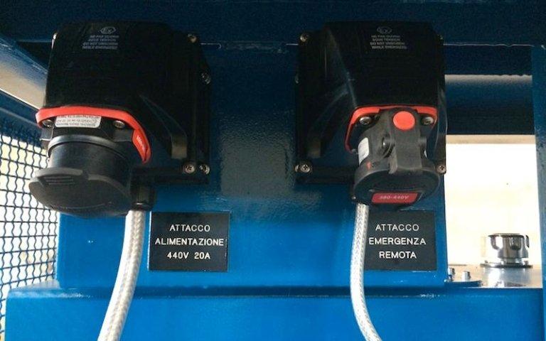 hydraulic power unit power supply