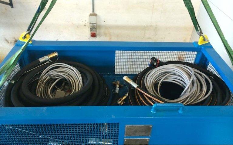 hydraulic power unit component maintenance