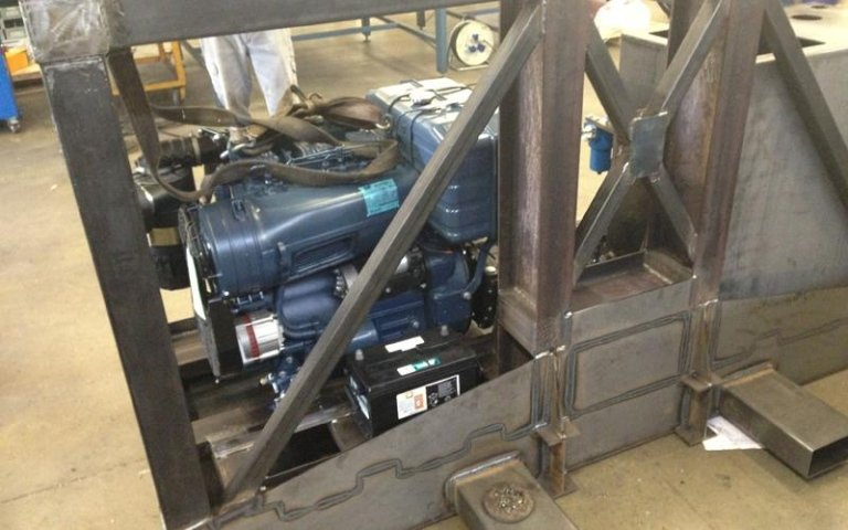 packaging for transporting hydraulic power units