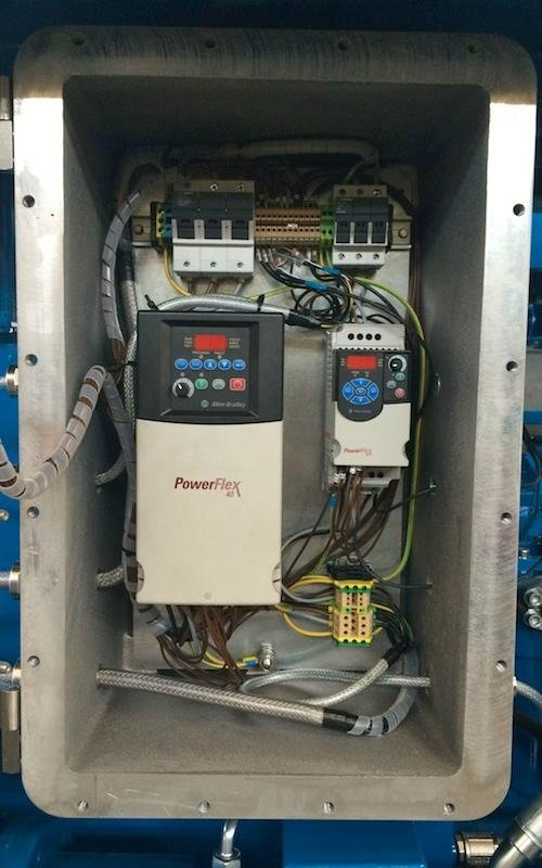 hydraulic power unit components