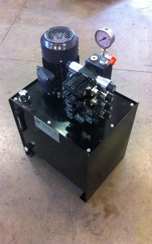 industrial power unit components