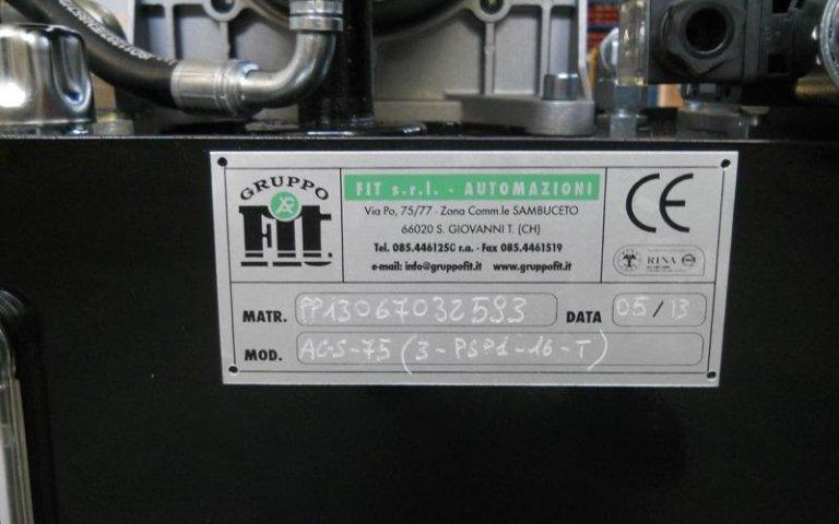 Fit Srl power units for Raicam