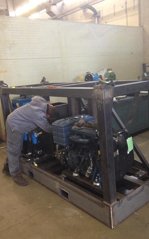 oversized machinery transportation preparation