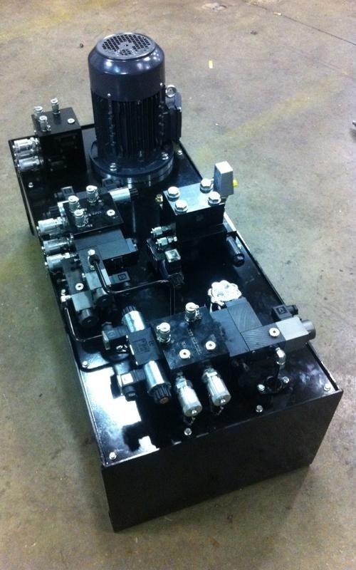 Fameccanica power unit supply