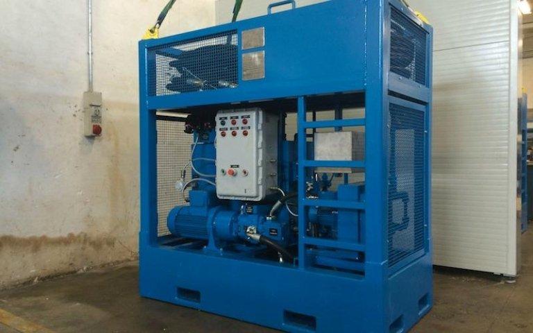 hydraulic system installation