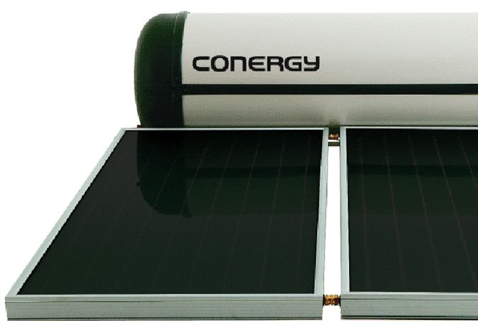 Conergy Solar Hot Water Unit