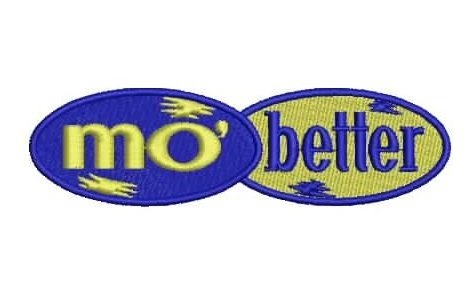 Mo better blues logo patch