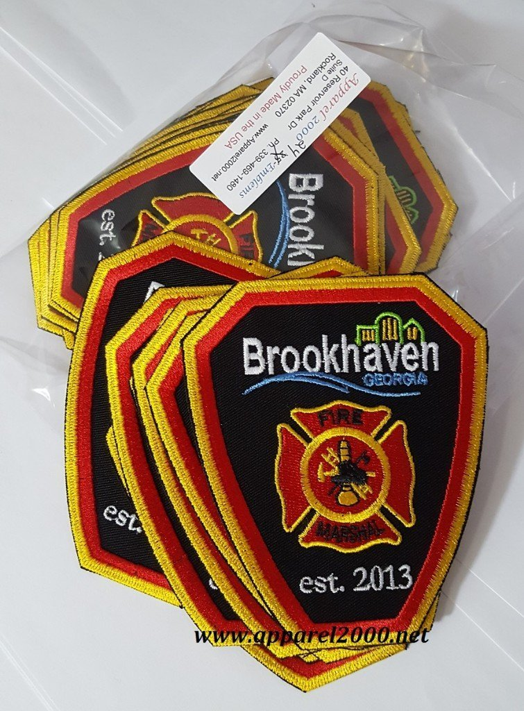 Brookhaven Fire Patches