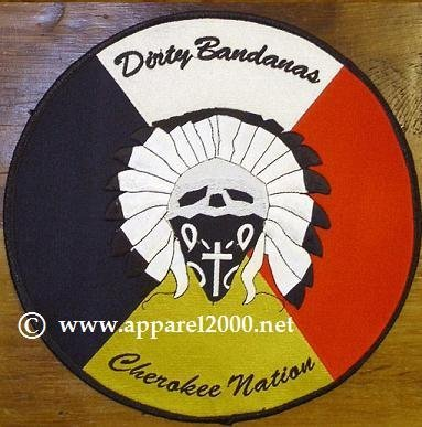 Native American MC Patches