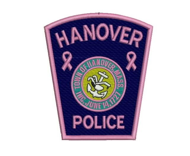 Hanover police patch