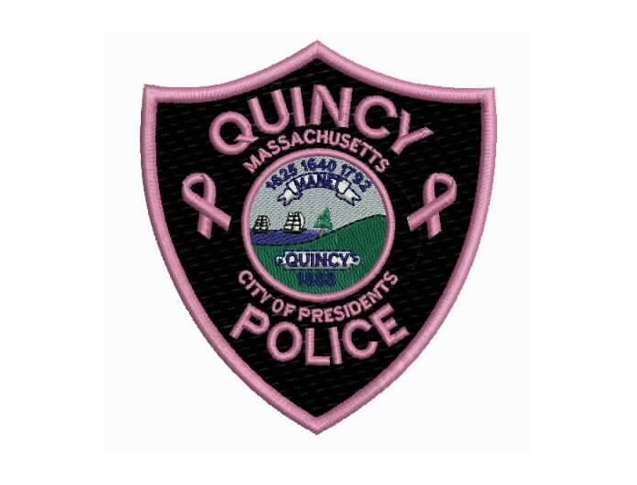 Quincy Mass Police Patches