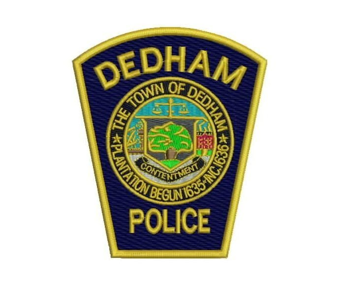Dedham MA Police Shoulder Patches