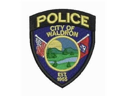 Waldron Police Shoulder Patch