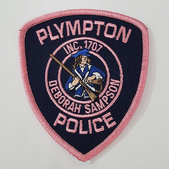 Plympton Police Patch