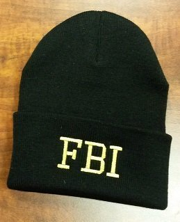 Knit hat for FBI