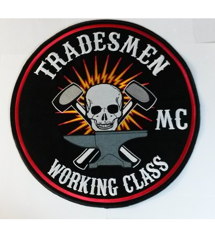 Large MC back patches