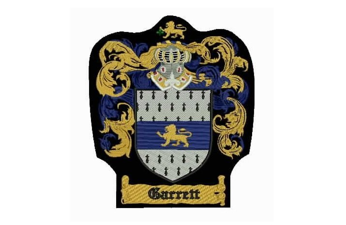 Large Family Crest Patch