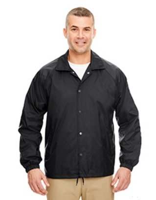 Black coaching jacket