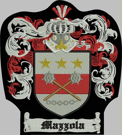 Mazzola Family Crest