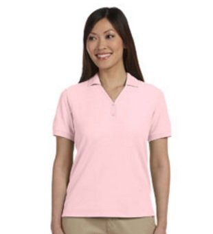 Ladies polo shirts with embroidery