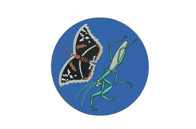 Praying mantis patch