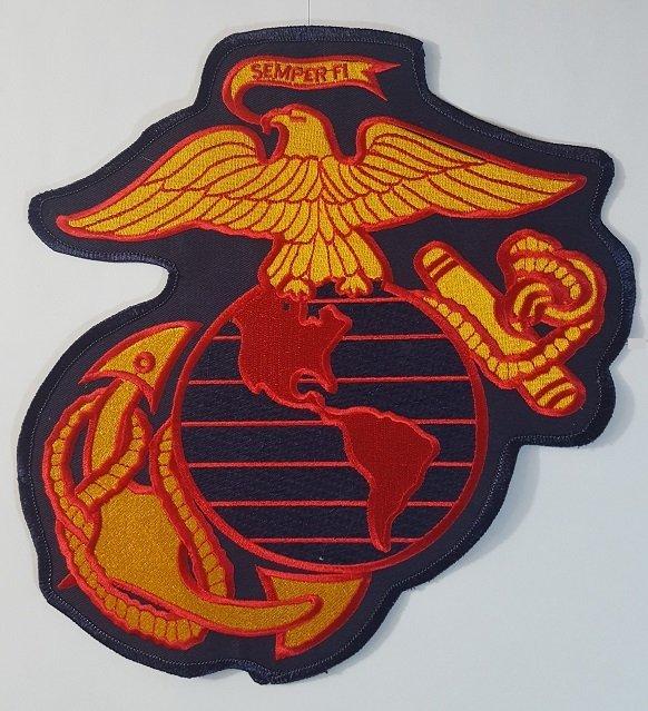 Marine Eagle Globe Anchor Insignia