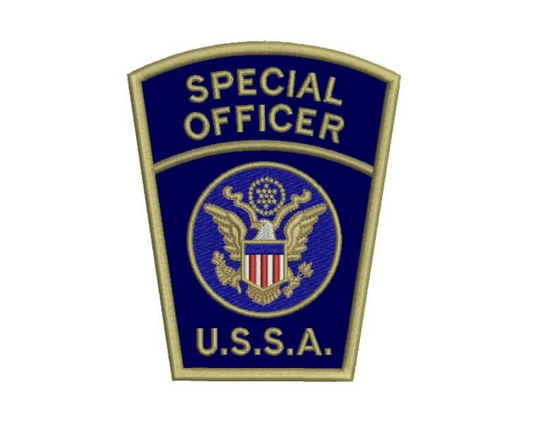 Officer Guard Patches