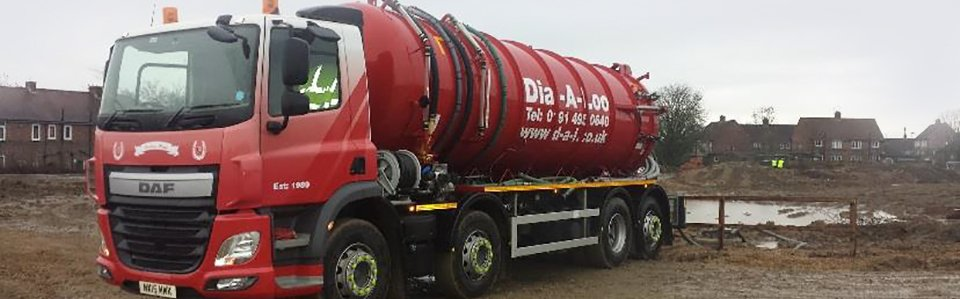 Professional septic tank emptying
