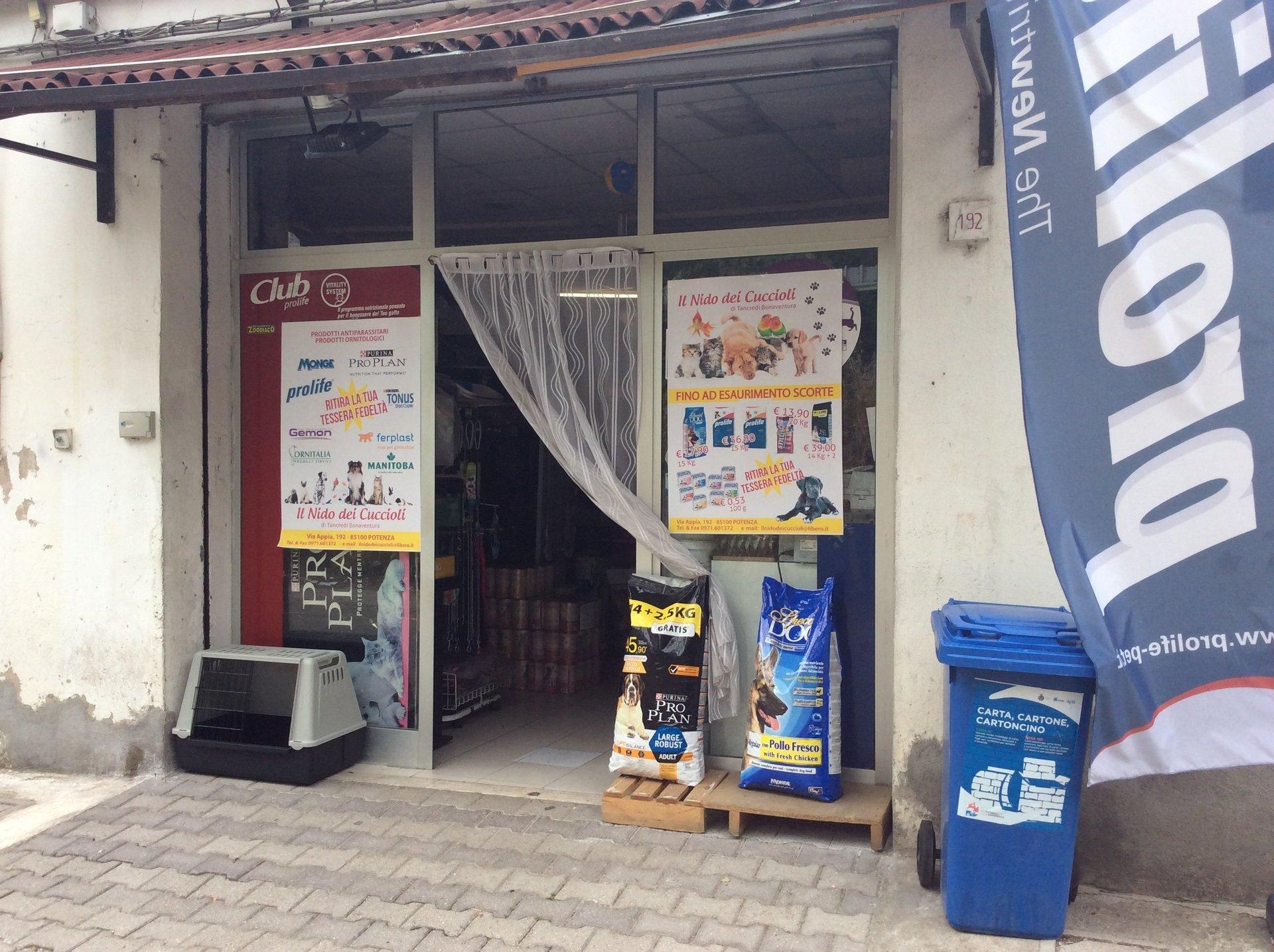 entrata negozio