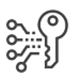restrictive keying icon