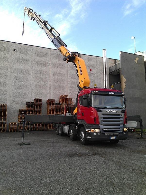 posizionamento in quota coperture edili