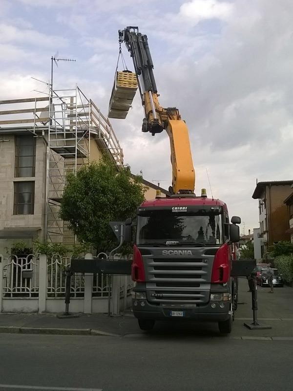 lavori spostamento tetti